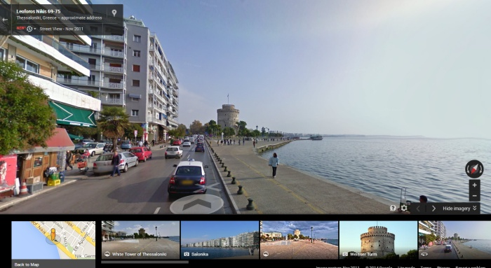 google-street-view-thessaloniki-white-tower