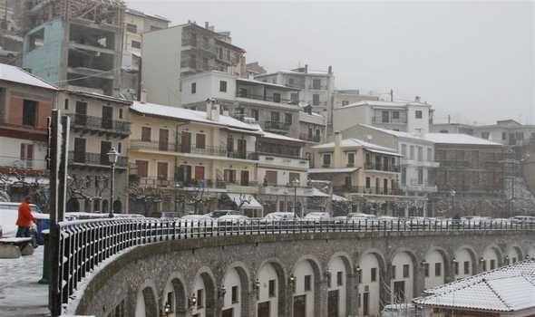 Image result for Αραχωβα με χιονια