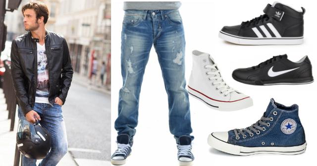 dermatino-mpoufan-athlitika-jeans