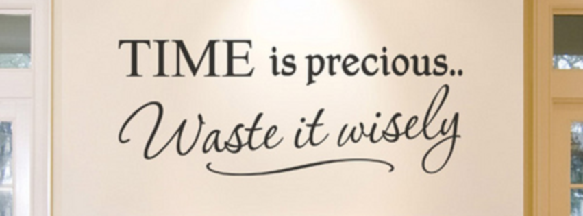 time-is-precious-waste