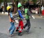 Αστείο street dancing