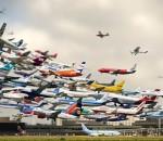 Πόσα αεροπλάνα πετάνε στον αέρα αυτή τη στιγμή?