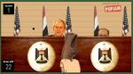 Χτύπα τον Bush με την παντόφλα σου