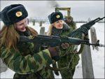 Όμορφες γυναίκες στις ένοπλες δυνάμεις