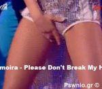 Kalomoira .. Please Don't Break My Heart DWTS