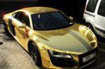 Χρυσή Audi R8.. προς πώληση!!