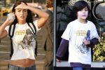 Η Megan Fox «κλέβει» τα ρούχα του θετού της γιου